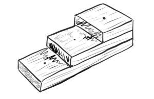 diagram of a pinning block